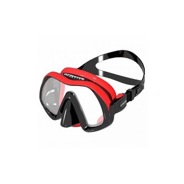 Atomic Venom Frameless Mask Red