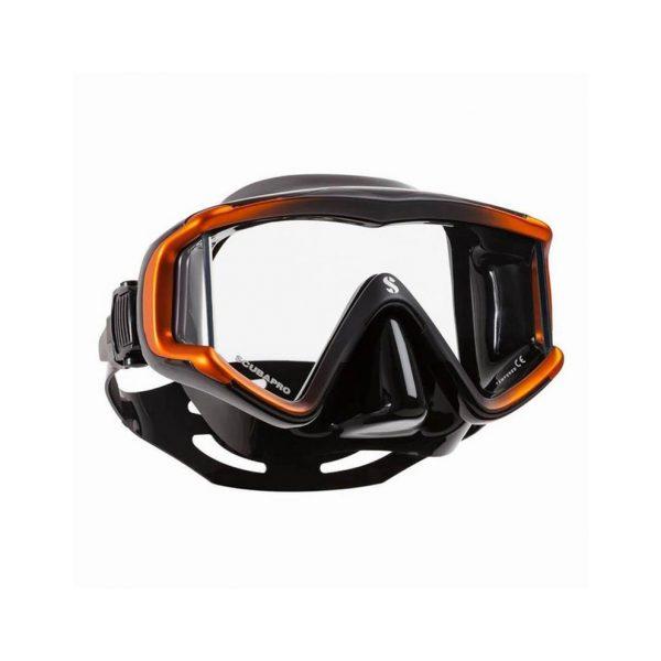 Scubapro Crystal Vu Mask Black Orange