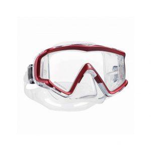 Scubapro Crystal Vu Mask Red