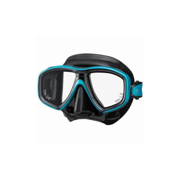 Tusa Freedom Ceos Mask Black Silicone Blue Green