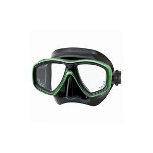 Tusa Freedom Ceos Mask Black Silicone Green