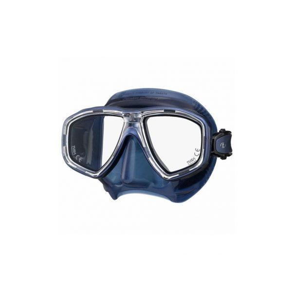 Tusa Freedom Ceos Mask Black Silicone Indigo