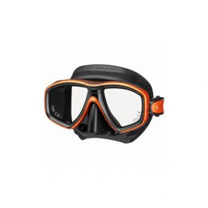 Tusa Freedom Ceos Mask Black Silicone Orange