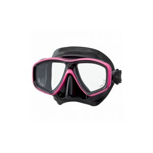 Tusa Freedom Ceos Mask Black Silicone Pink