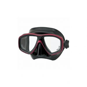 Tusa Freedom Ceos Mask Black Silicone Red