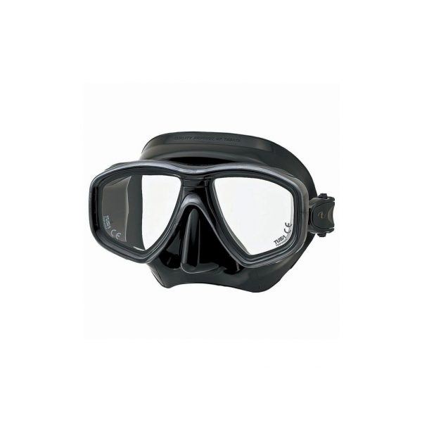 Tusa Freedom Ceos Mask Black Silicone Silver