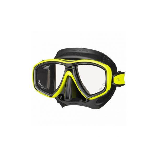 Tusa Freedom Ceos Mask Black Silicone Yellow