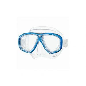 Tusa Freedom Ceos Mask Clear Silicone Blue