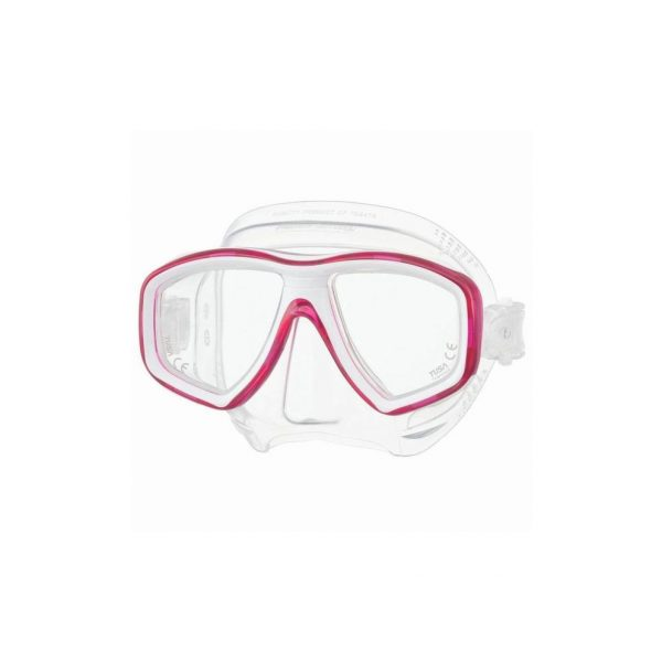 Tusa Freedom Ceos Mask Clear Silicone Hot Pink