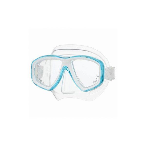 Tusa Freedom Ceos Mask Clear Silicone Light Blue