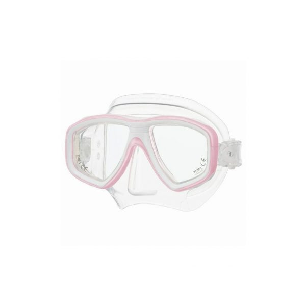 Tusa Freedom Ceos Mask Clear Silicone Light Pink