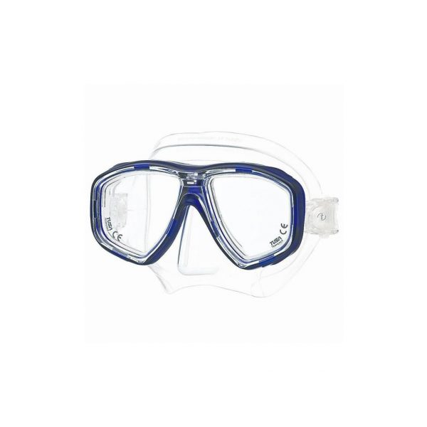 Tusa Freedom Ceos Mask Clear Silicone Navy