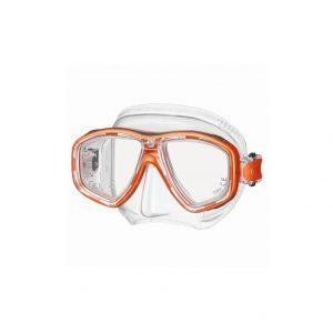 Tusa Freedom Ceos Mask Clear Silicone Orange
