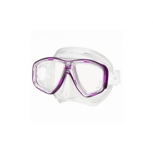 Tusa Freedom Ceos Mask Clear Silicone Purple