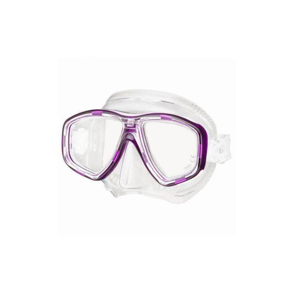 Tusa Freedom Ceos Mask Clear Silicone Purple