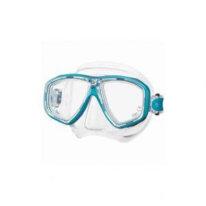 Tusa Freedom Ceos Mask Clear Silicone Sea Blue