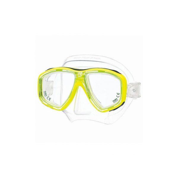 Tusa Freedom Ceos Mask Clear Silicone Yellow