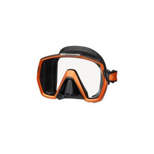 Tusa Freedom Hd Mask Black Orange