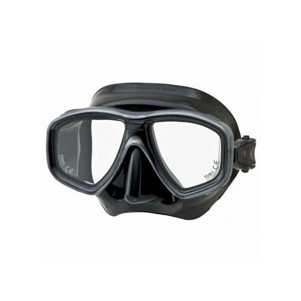 Tusa Geminus Dive Mask Black