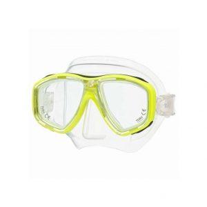 Tusa Geminus Dive Mask Yellow