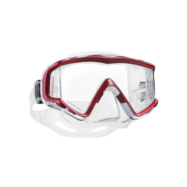 Scubapro Crystal Vu Clear Red