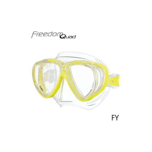 Tusa Freedom Quad Clear Yellow
