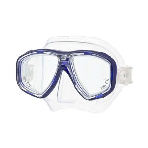 Tusa Geminus Clear Cobalt Blue